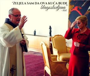 Predsjednica RH i fra Jozo Zovko