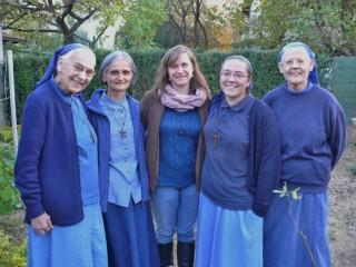 Zajednica Isusovih malih sestara s gošćom Foto: Drago Pilsel