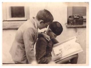 Bordo i Zoka u Požarevcu - 1943.