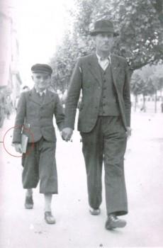 Bordo i otac u Beogradu, 1941.