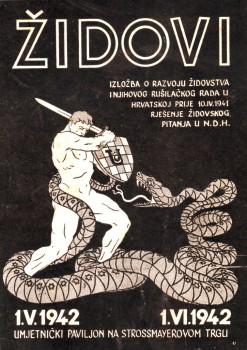 Ustaše o Židovima kao zmijama