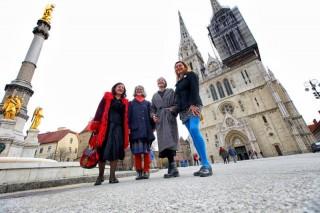 Jacqueline Bat, Lana Bobić, Jadranka Brnčić,, Marina Škrabalo Foto: Boris Ščitar - Večernji list