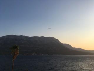 Pogled s grada Korčule