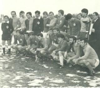 Dinamo i Banija u Glini 1980.