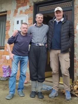 Milan i Ljuban Ivković s Alanom iz Zagreba (foto Anja Kožul)